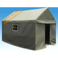 China 4x6m Outdoor Steel Waterproof Canvas Camping Military Frame Tent on sale