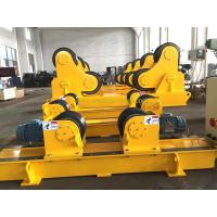 China Bolt Adjustment Conventional Pipe Welding Rotator with Digital Turning Speed Display on sale