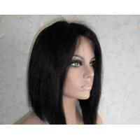 Professional Lace Front Human Hair Wigs 8 Inch Short Wigs