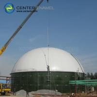 China Anaerobic Digester Tank  With Double Membrane Membrane Gas Holder For Anaerobic Digestion Plants wholesale
