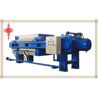 China Automatic Pulling Plate Filter Press(Series 800) on sale