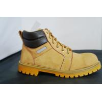 China Up Ankle Yellow Steel Safety Toe Work Shoes For Man And Women wholesale