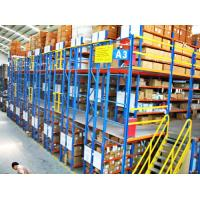 Multi - Layer Powder Coating Rack Supported Mezzanine Floor With Walkways
