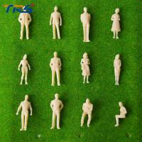 China 2017 new  1/50 3.5cm  skin color ABS plastic figure for architectural building model making train layout scenery on sale