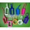 China NEW shape silicone hand sanitizer holder, hand sanitizer case wholesale