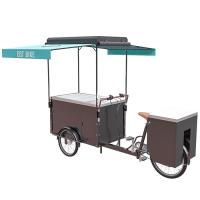China Customizable Bicycle Freezer Cart For Vending Ice Cream CE Certificate wholesale