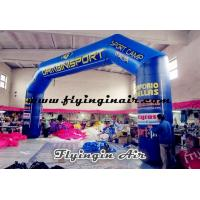 China 14m Giant Blue Inflatable Arch for Outdoor Advertisement and Events wholesale