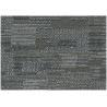 Dark Green Dry Back Carpet Pvc Sheet Flooring / Vinyl Floor Tiles For Commercial