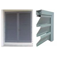 China Vision Screen Sight Proof Ventilation Aluminium Louvre Windows For Residential wholesale