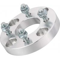 China Thick 25mm T6061 Billet Cnc Wheel Spacers 12 X 1.5 Studs wholesale