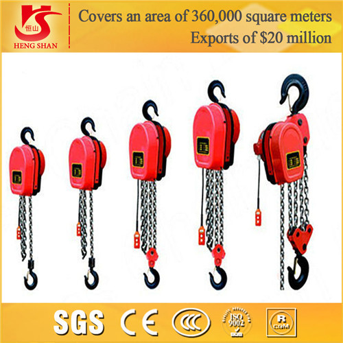 Quality Year 2015 Chain Block,Chain Pulley Hoist, Electric Chain Hoist for sale