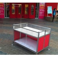 China Collapsible Garment Shop Promotional Desk / Retail Clothes Display Table For Store wholesale