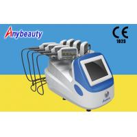 China Portable Body Lipo Laser Slimming Machine With 8 Handpieces For Fat Removal on sale
