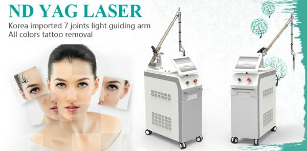 Quality OEM/ODM beauty device 1064 nm 532 nm nd yag laser q-switched nd yag laser tattoo removal machine for sale