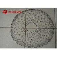 China Black Anneal Root Ball Wire Basket For Trees Or Plants Rootball Transportations wholesale