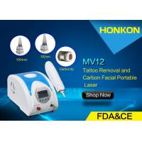 China 1064nm Q Switched ND YAG Laser Freckle Removal Machine For Body Tattoo wholesale