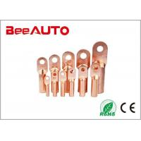 Buy cheap DT Electrical Uninsulated Copper Terminal Lugs For Railway , Transportation from wholesalers