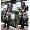 China Women's Silver Fox Fur Vest Fox Fur Coats Jacket Japanese & Korean style Z36 wholesale