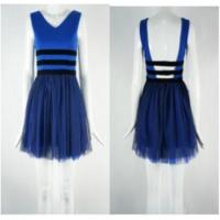 China Skater (deep V Back | Prom Dress With Strappy Cut Out) on sale
