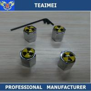 China Wheel Cover Hub Cap Car Wheel Valve Caps Silver Chrome Or Customuzed wholesale