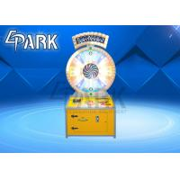 China Spin N Win Classic Arcade Redemption Lottery Game Machine For 4 Player on sale