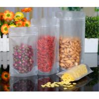 China Custom Printed Stand Up Pouches With Ziplock , Stand Up Plastic Pouch Packaging wholesale