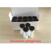 China HPLC Hexarelin Muscle Building Peptides Most Effective 98 Percent Purity wholesale