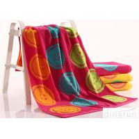 China Woven Dye Yarn Organic Cotton Bath Towels Colorful OEM Available wholesale
