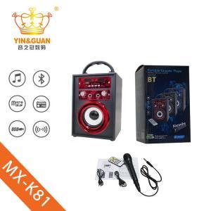 China mini blueooth speaker portable wireless bluetooth speaker wooden speaker on sale