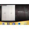 China Simple European Wardrobe Sliding Door Standard Home Bedroom Furniture wholesale