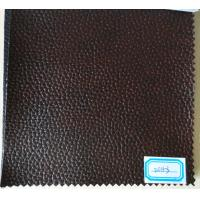 China Good Elastic Strenghth PU Leather Material for Sofa, Decorative, Car Seat wholesale