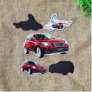 China Printed Car Fridge Magnet wholesale