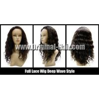 China Full Lace Wig Indian Human Hair on sale
