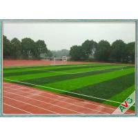 FIFA Standard Anti UV Football Artificial Turf With Woven Backing