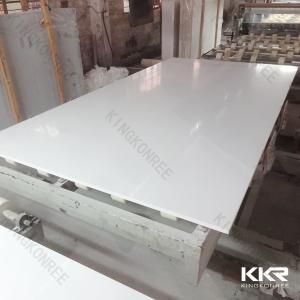 China Scratch Resistant Quartz stone Tile Pure White Quartz Stone Slab on sale