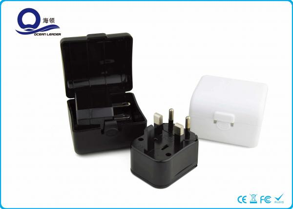 Quality 3 In 1 Adapter Universal Travel Plugs Charger Kit With Travel Case Mixed Color for sale