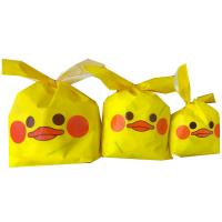 China Wax Coated Paper Biscuit Gift Bags 19*32cm Environmental Friendly Material wholesale