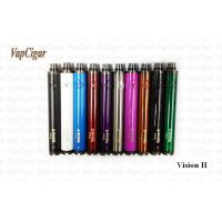 China Vision II Vaporizer E Cig  3.3V - 4.8V Twist 1600mAh Battery , Adjust Voltage wholesale