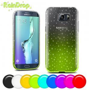 China Couverture en plastique molle personnalisée de cas de bord de la galaxie S6 de Samsung avec des couleurs multi wholesale