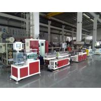Buy cheap AF20 Razor Lubrication Strip Extrusion Production Line , Twin Screw Plastic Extruder Servo Motor from wholesalers