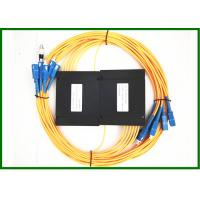 Buy cheap 1310/1550nm 1*6 Single Mode Tree Fiber Coupler/Splitter with SC-FC Connetor in Plastic Box from wholesalers