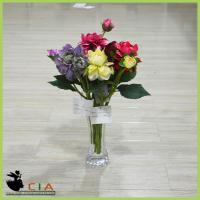 China China Factory Made Artificial Fabric Flower Bushes Branch for Holiday Room Decoration wholesale