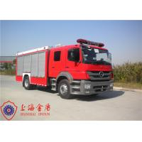 Max Speed 100KM/H Foam Fire Truck Adjustable Seats With Cooling Water Pipeline