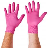 China S M L Xl Disposable Medical Gloves For Food Industry , Home Nursing on sale