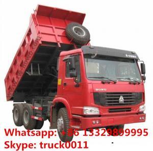 China SINO TRUK HOWO brand LHD 6*4 30tons dump tipper truck fpr sale, hot sale best price HOWO brand 25tons-3tons tipper truck wholesale