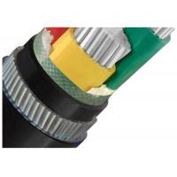 China Galvanized Steel Wire  Armoured Electrical Cable 4 Cores Low Voltage  XLPE or PVC Insulation AL Cable wholesale