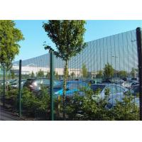 China Industrial Anti Climb Prison Fence Hot Dipped Galvanized Steel Material wholesale