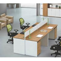 China modern 4 persons office table partition in warehouse in Foshan wholesale
