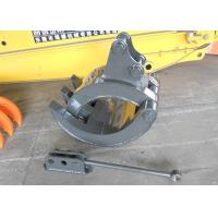 China YANMAR Vio55 Excavator Grapple Support Rod Quick Hitch Joint Design wholesale