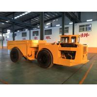 China Easy Operation Low Profile Dump Truck 15 Tons For Underground Mining Project wholesale